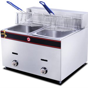 Gas Deep  Fryer -double8x2
