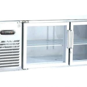 Under Bar Fridge 1.8 GLASS DOORS