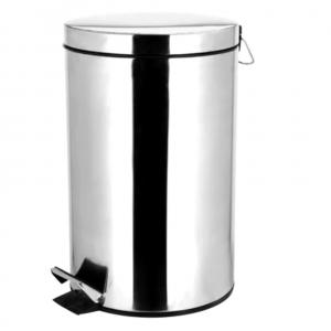Dustbin / Pedal Bin Stainless Steel – 12 Litre