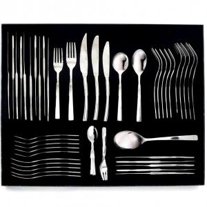 Eetrite-Stainless Steel Newport Cutlery Set-56 Piece